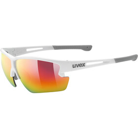 UVEX Sportstyle 812 Glasses white mat/mirror red